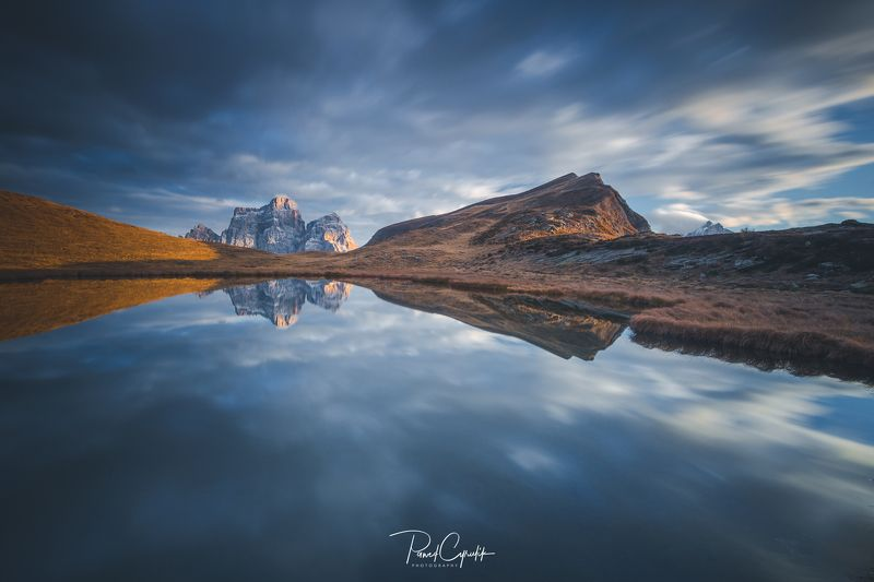 Dolomiti, dolomites, italy Lago Delle Bastephoto preview