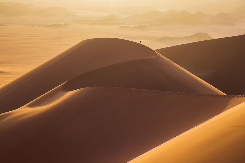 алжир, пустыня, песок, рассвет, дюна, мерзуга, тадрарт, джанет Поющая дюнаphoto preview