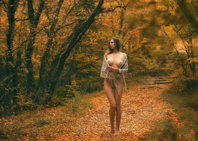 девушка, модель, ню Сашаphoto preview