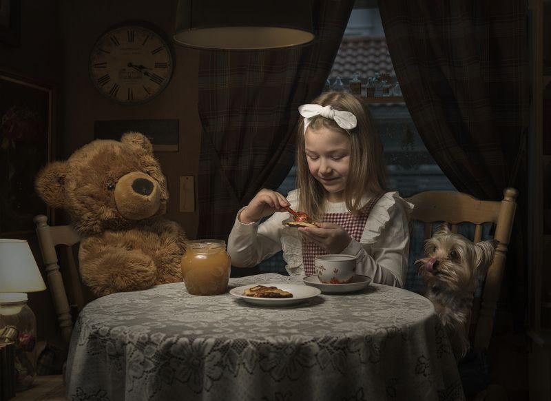 семейная фотография , портрет , собака , жанровый портрет photo preview