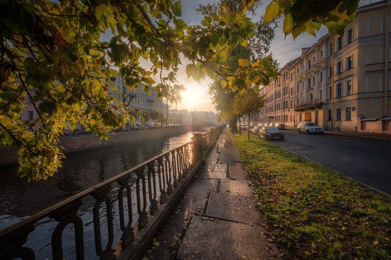 петербург, канал, грибоедова, солнце, осень, листва, утро Осеннее солнце на канале Грибоедоваphoto preview