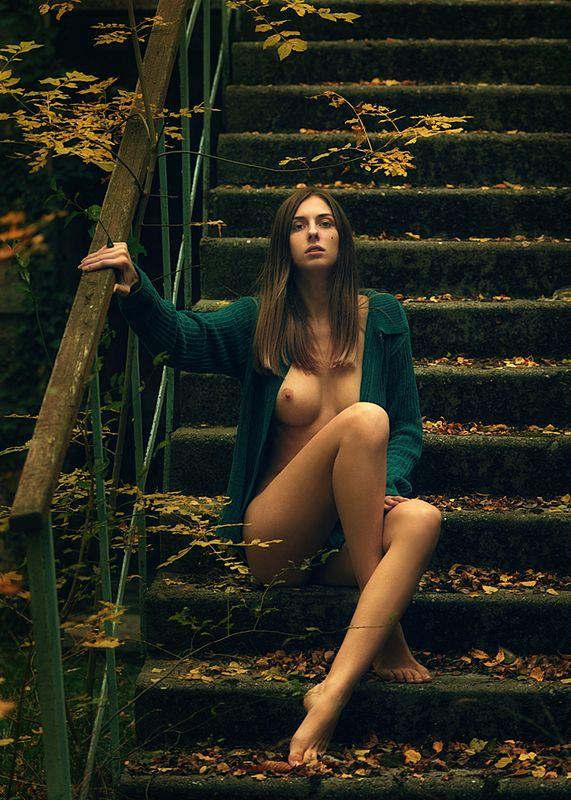 девушка, модель, ню photo preview