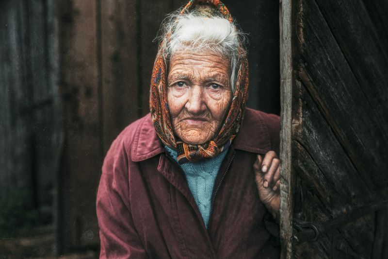 Портрет,portrait,women,old,people,eyes,willage Взгляд жизниphoto preview