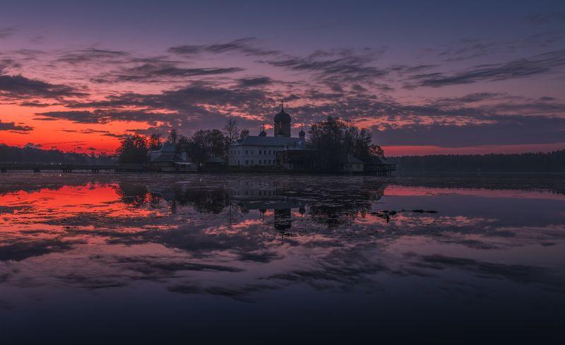 пейзаж, введенское, рассвет, утро, россия, природа В тишине рассветаphoto preview