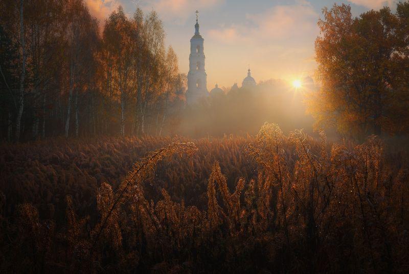 Осеннее утро photo preview