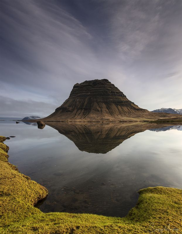 silent hill. kirkjufell. iceland. Silent hill. Kirkjufell. Iceland.photo preview