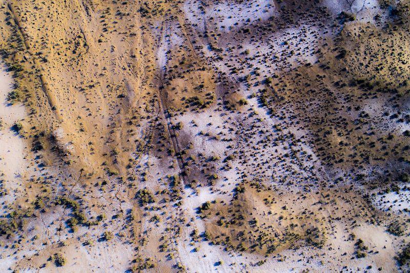 Узбекистан, Каракалпакстан, Кызылкум, аэро, aerial Абстракция природыphoto preview