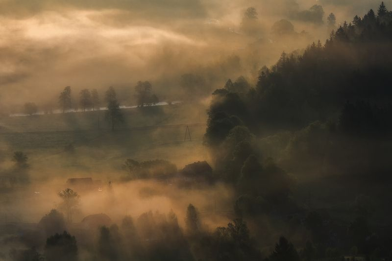 landscape,canon,mist,light,autumn Season of Mists IIphoto preview