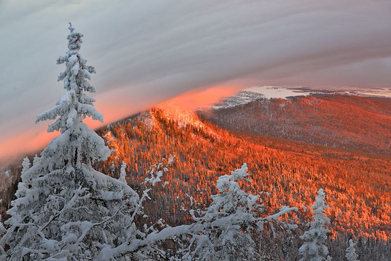 Снежный штормphoto preview