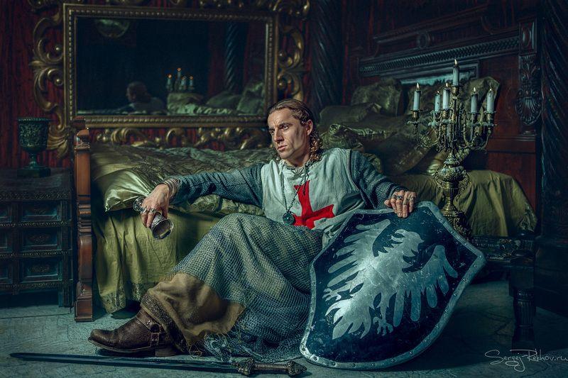 студия цитадель, портрет, замок. рыцарь, портрет, portrait Рыцарьphoto preview