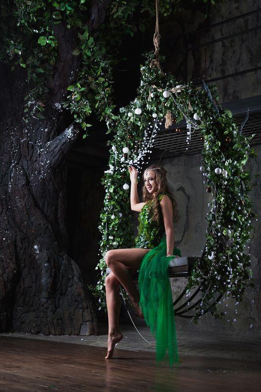 эльф, костюм, сказочное фото, житель леса, фея Эльфphoto preview