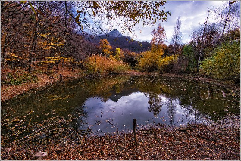 крым, осень, пруд в окрестностях г.демирджи *  *  *photo preview