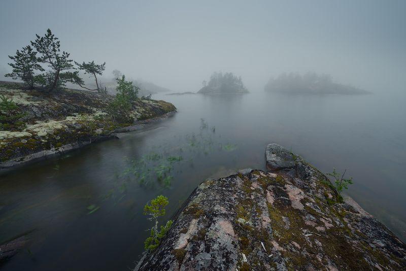 Ладога... Туманная...photo preview