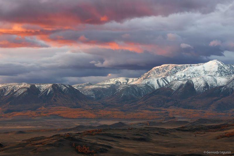 алтай, altai, осень, autumn, горы, mountains Первый светphoto preview