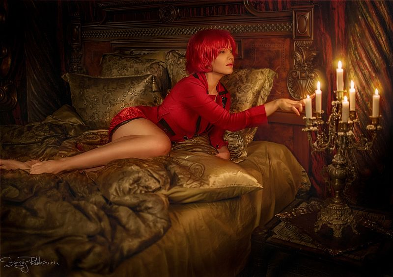 студия цитадель, романтика, эротика, портрет, жанр, rekhov В старом замкеphoto preview