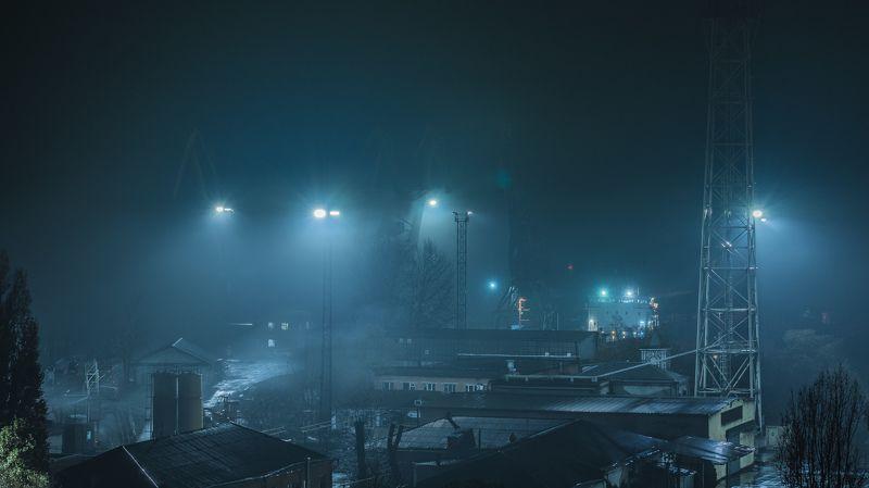 Ночной туманphoto preview