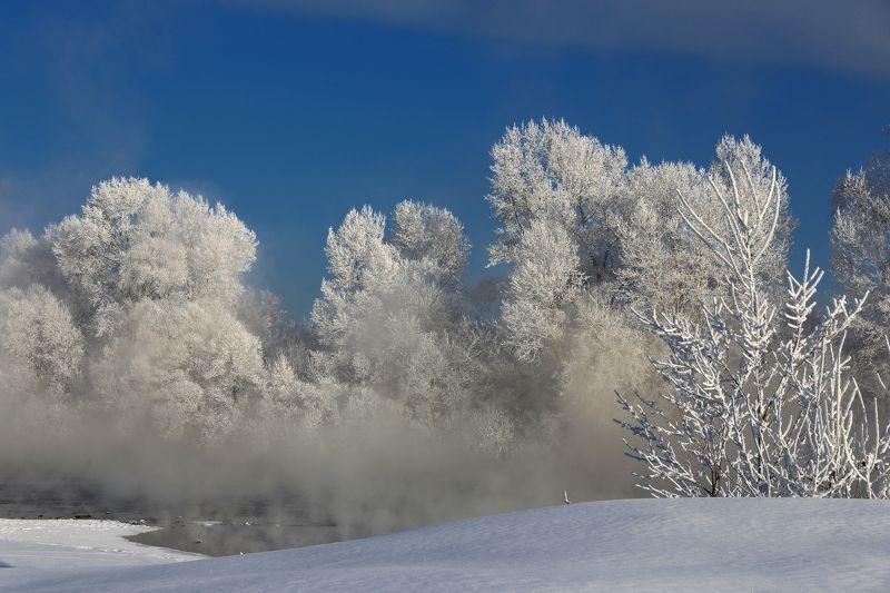 сибирь, мороз, зима, новокузнецк, томь Не на шутку приморозило!photo preview