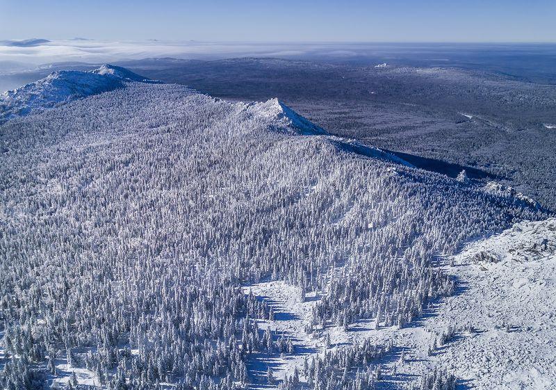 таганай, зима, урал, горы, лес Величие Таганаяphoto preview