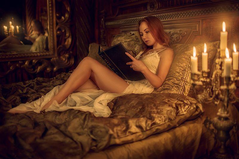 студия цитадель, портрет, замок. девушка, portrait Бессонницаphoto preview