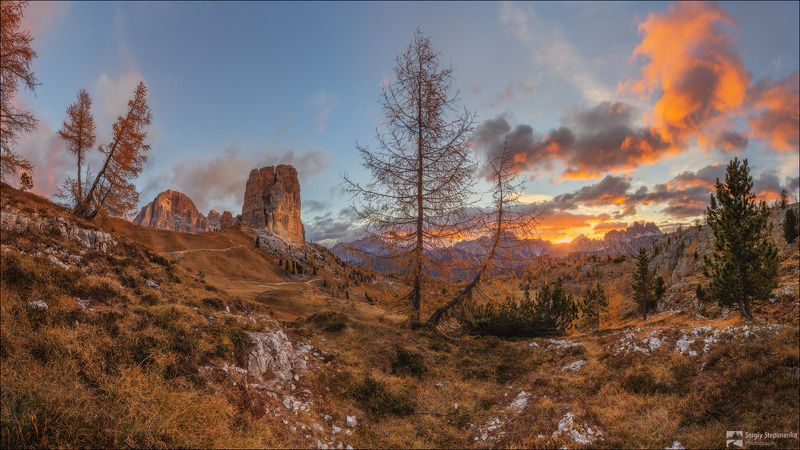 Осеннее утро в горахphoto preview