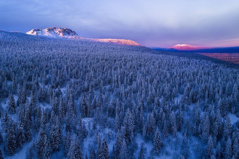 таганай, зима, урал, горы, лес Долина сказокphoto preview