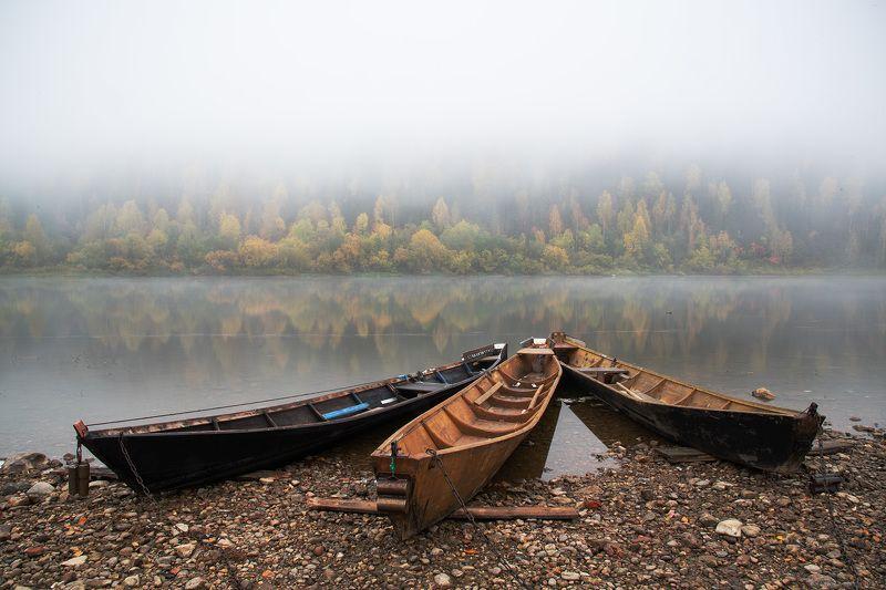 Лодки на Вишереphoto preview