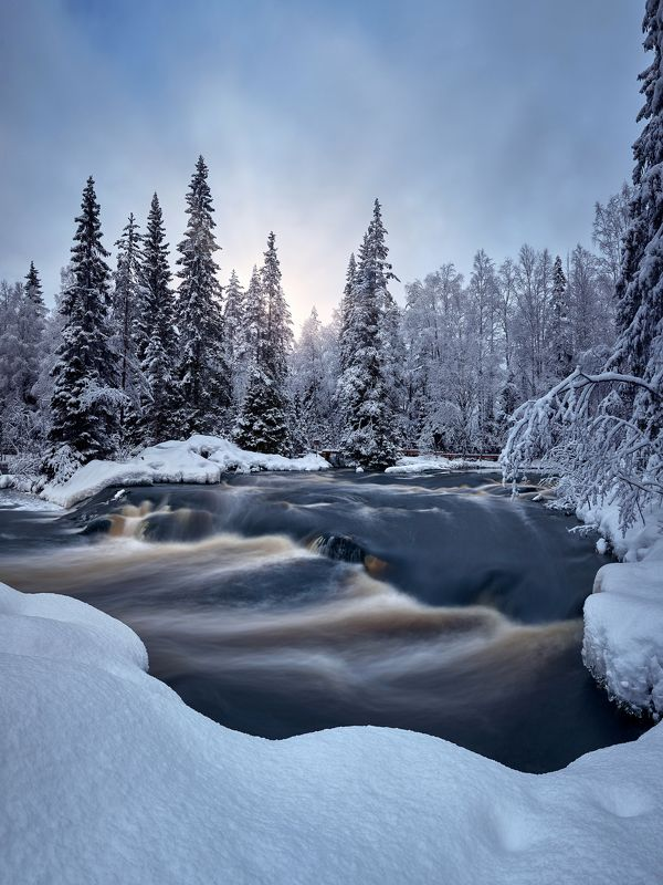 карелия, тохмайоки, рускеала, зима, декабрь Снежная сказкаphoto preview
