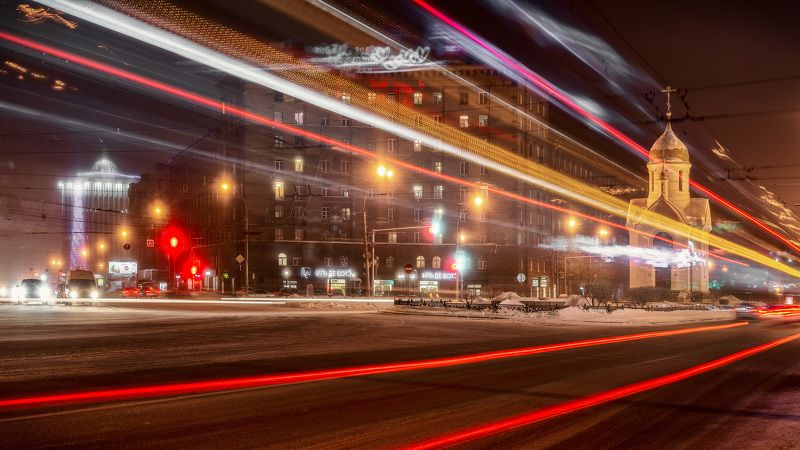 Фантомы вечернего городаphoto preview