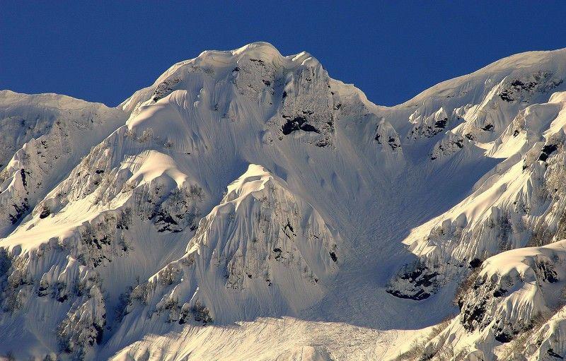 зима горы Карнизы.photo preview