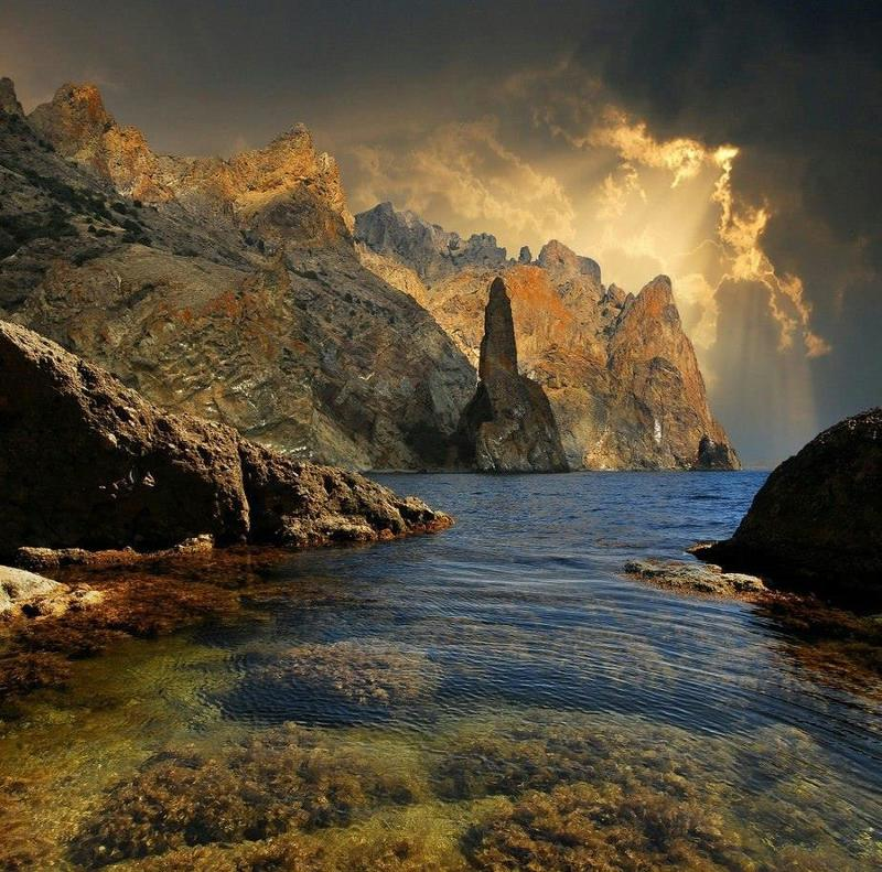 Крым, море, небо, Карадаг,  Крым. Карадаг.photo preview
