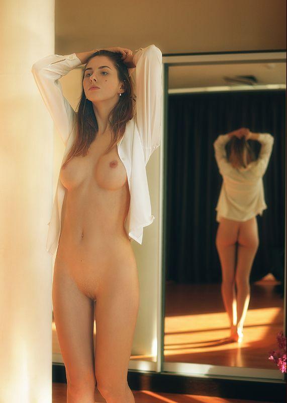 девушка, модель, ню Утроphoto preview