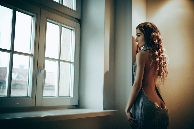 woman, beauty, fashion, art, indoors Inside my windowphoto preview