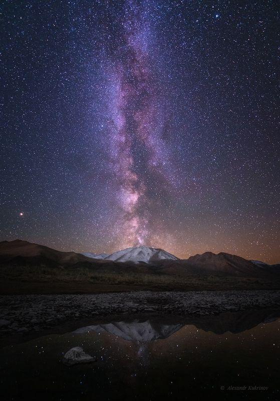 монголия, ночь, звёзды, млечный путь Под монгольскими звёздами...photo preview