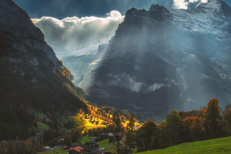 landscape,travel,light,switzerland Grindelwald lightsphoto preview