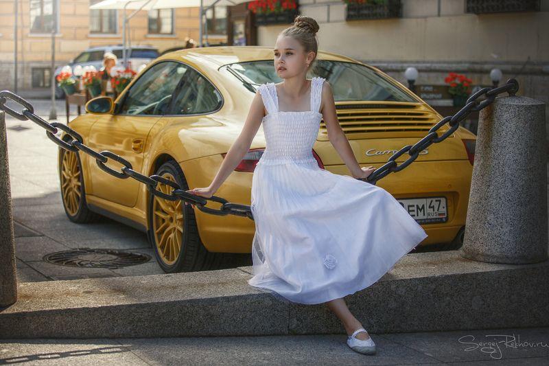 девочка, балет, модель, улица, искусство, rekhov Мечты о Большом...photo preview