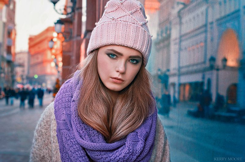 portrait, girl, портрет,style,light,city,moscow, model Moscow eveningphoto preview