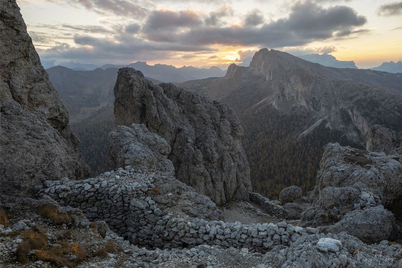 sass, de, stria., dolomites. Sass de Stria. Dolomites.photo preview
