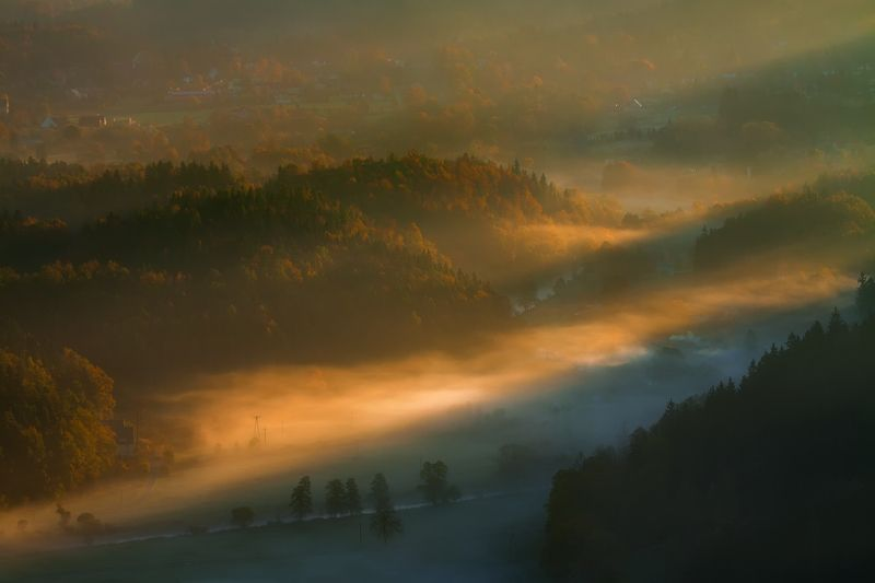 landscape,canon,mist,light,autumn Spread Your Golden Wings...photo preview