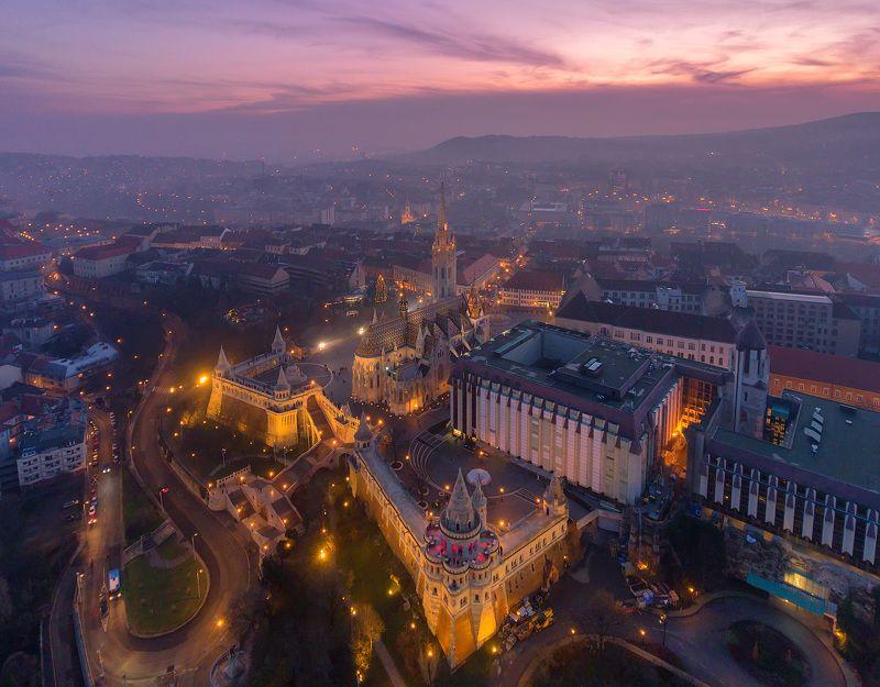 будапешт, венгрия, вudapest, hungary,  dji, phantom 4, Над Рыбацким бастионом.photo preview