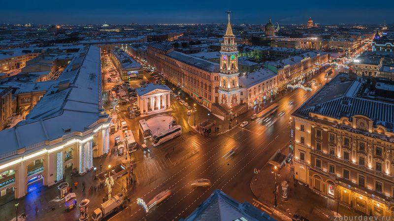 россия, петербург, санкт-петербург, город, архитектура, зима, дрон Петербургская городская думаphoto preview