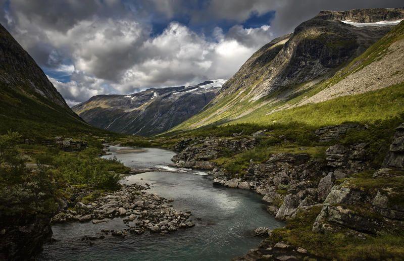 норвегия речушкаphoto preview