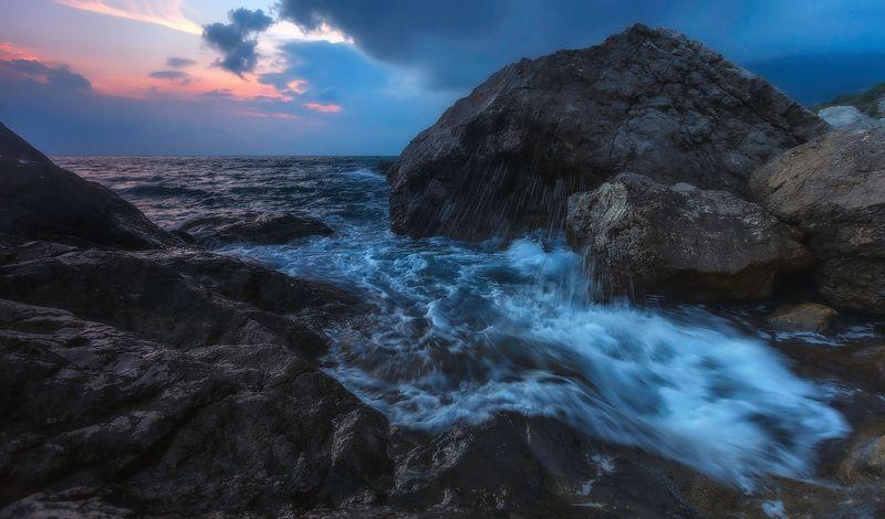 крым, севастополь, ласпи, изумруд, черноеморе А море Чёрное . . .photo preview