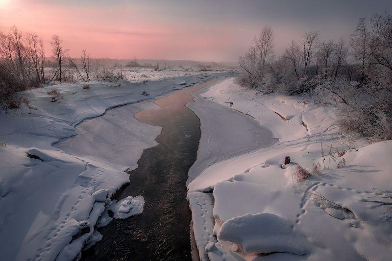 усолка, река, пермь, пермский край, пейзаж, зима, мороз, лед, снег, солнце, холод Еще не полностьюphoto preview