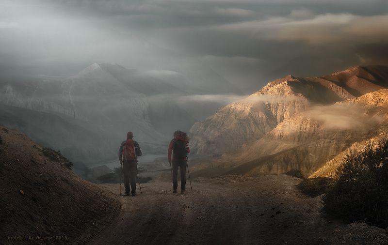 верхний мустанг, непал, nepal, upper mustang, landscape, mountains Успеть до заката. 3600м, Верхний Мустанг, Непалphoto preview