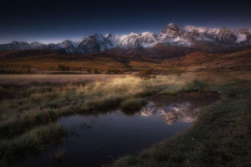 алтай, горы, джангысколь Предрассветный Джангыскольphoto preview