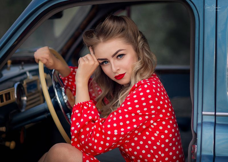 портрет красота девушка арт Каринаphoto preview