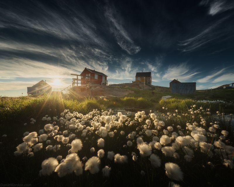 Гренландия Деревушка в Гренландииphoto preview