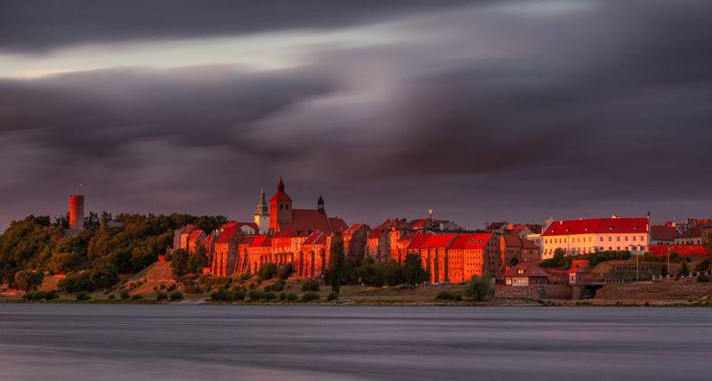 Panorama Grudziądza photo preview