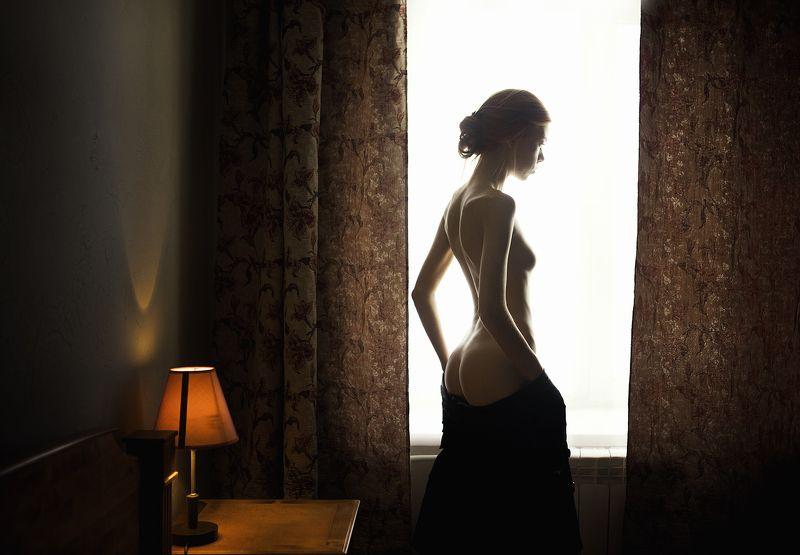 ню портрет девушка Анастасияphoto preview