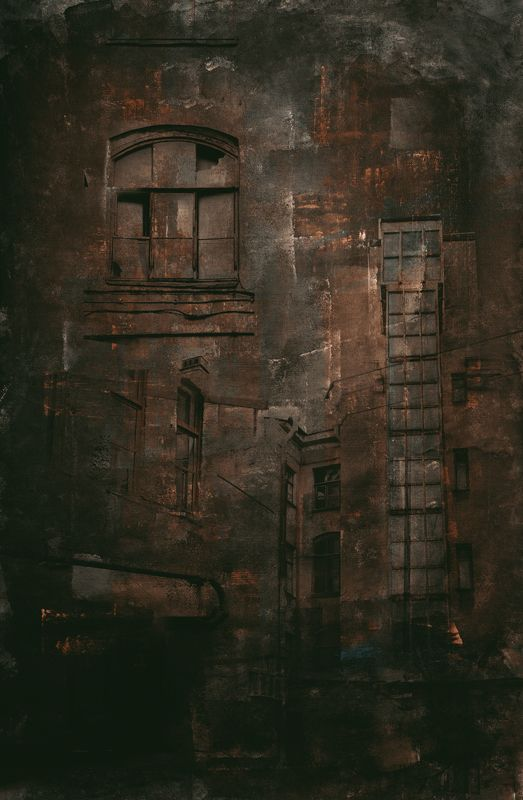 абстракция, город, санкт-петербург Питер абстрактphoto preview